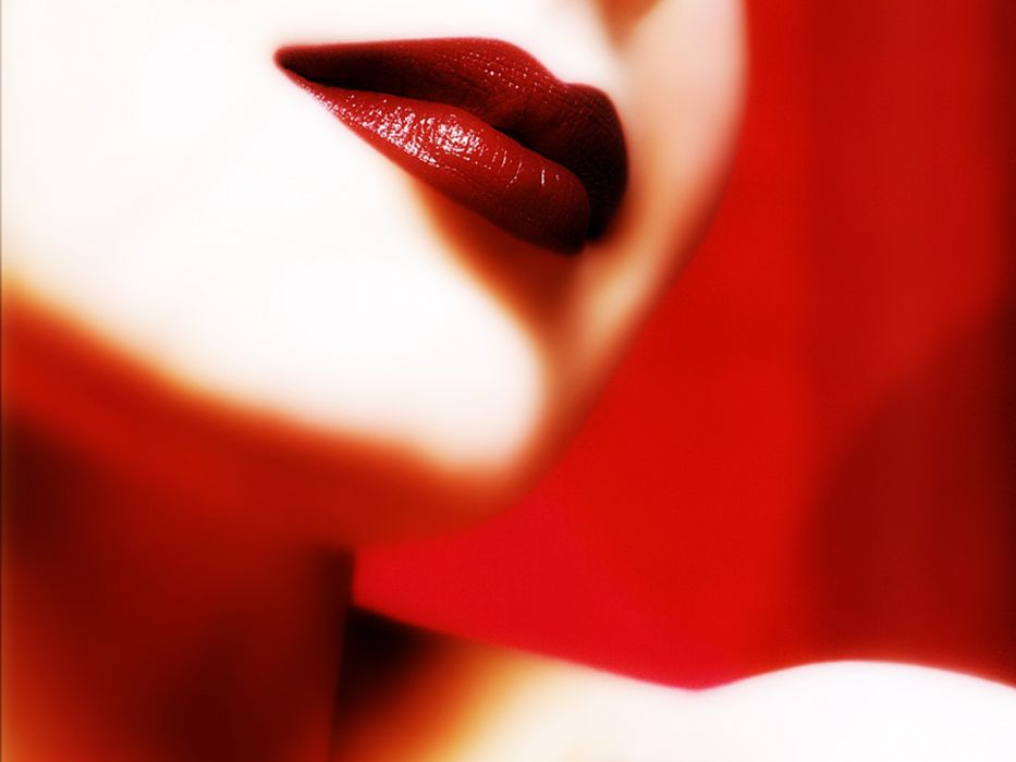 lip red wallpaper
