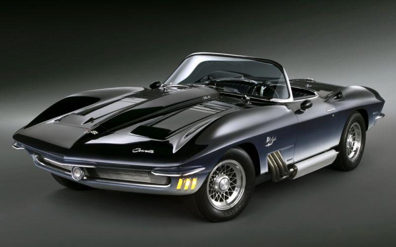 Chevrolet Corvette Mako Shark Concept Car 1962 hot rods muscle classic wallpaper