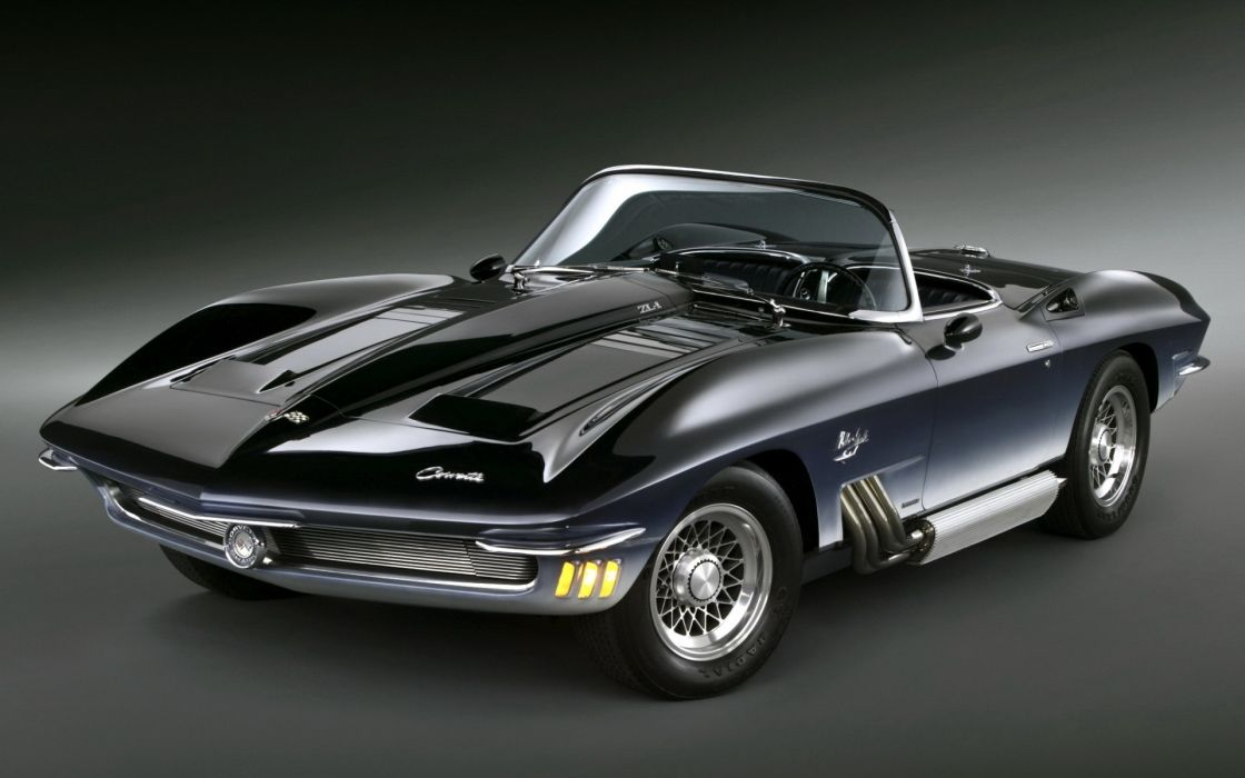 Chevrolet  Corvette  Mako Shark  Concept Car  1962 hot rods muscle classic wallpaper