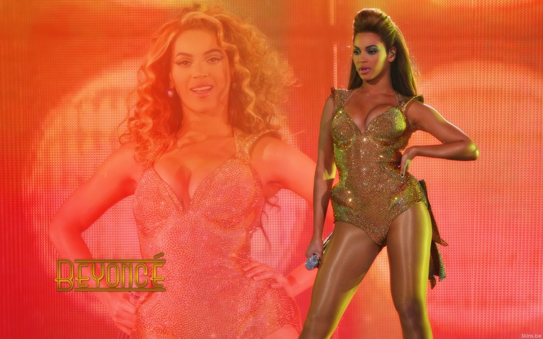 Beyonce Knowles hip hop singer musician women females girls sexy babes cleavage       n wallpaper