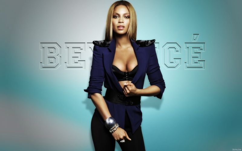 Beyonce Knowles hip hop singer musician women females girls sexy babes cleavage o wallpaper