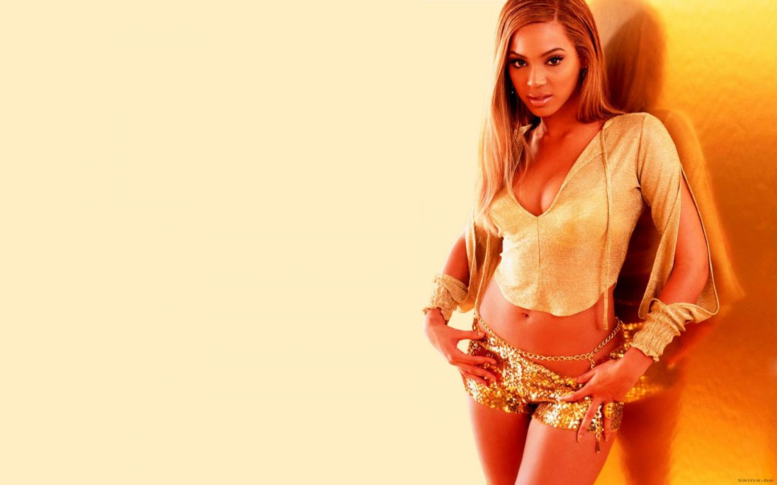 Beyonce Knowles hip hop singer musician women females girls sexy babes cleavage      b wallpaper