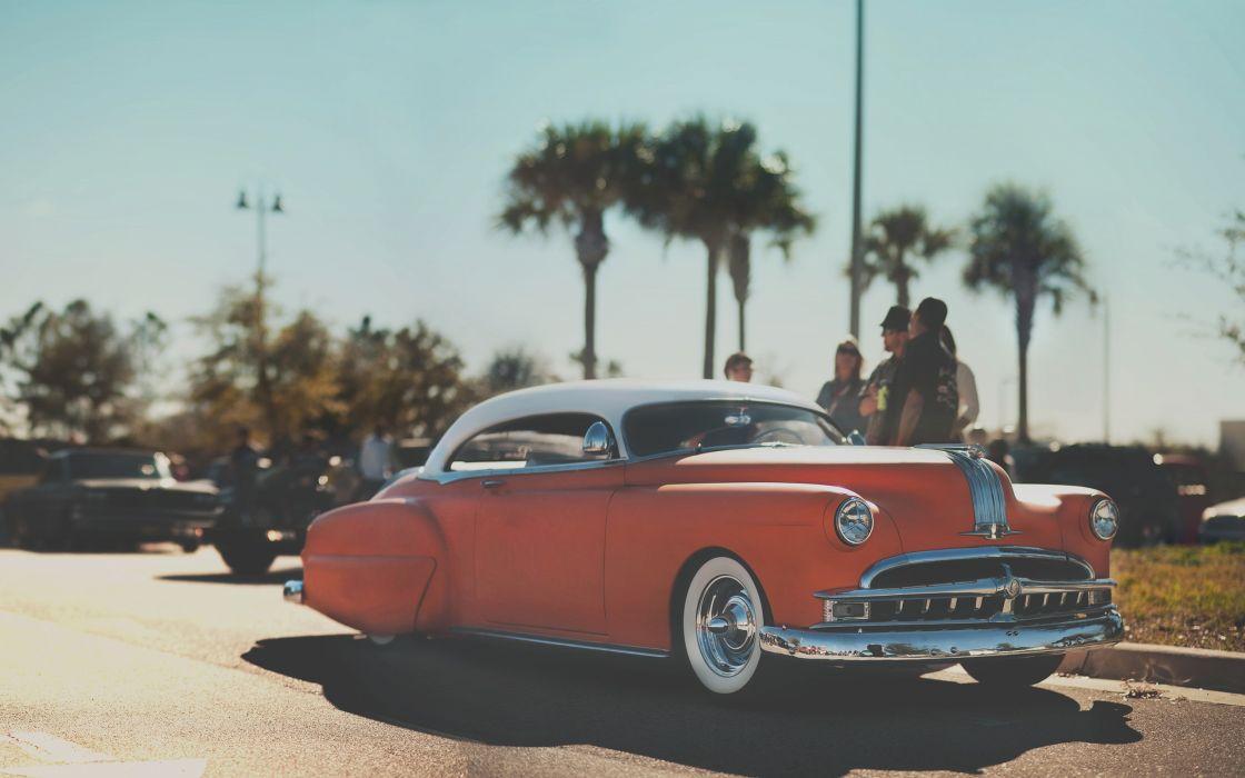 Classic Hot Rod Warm lowrider retro wallpaper