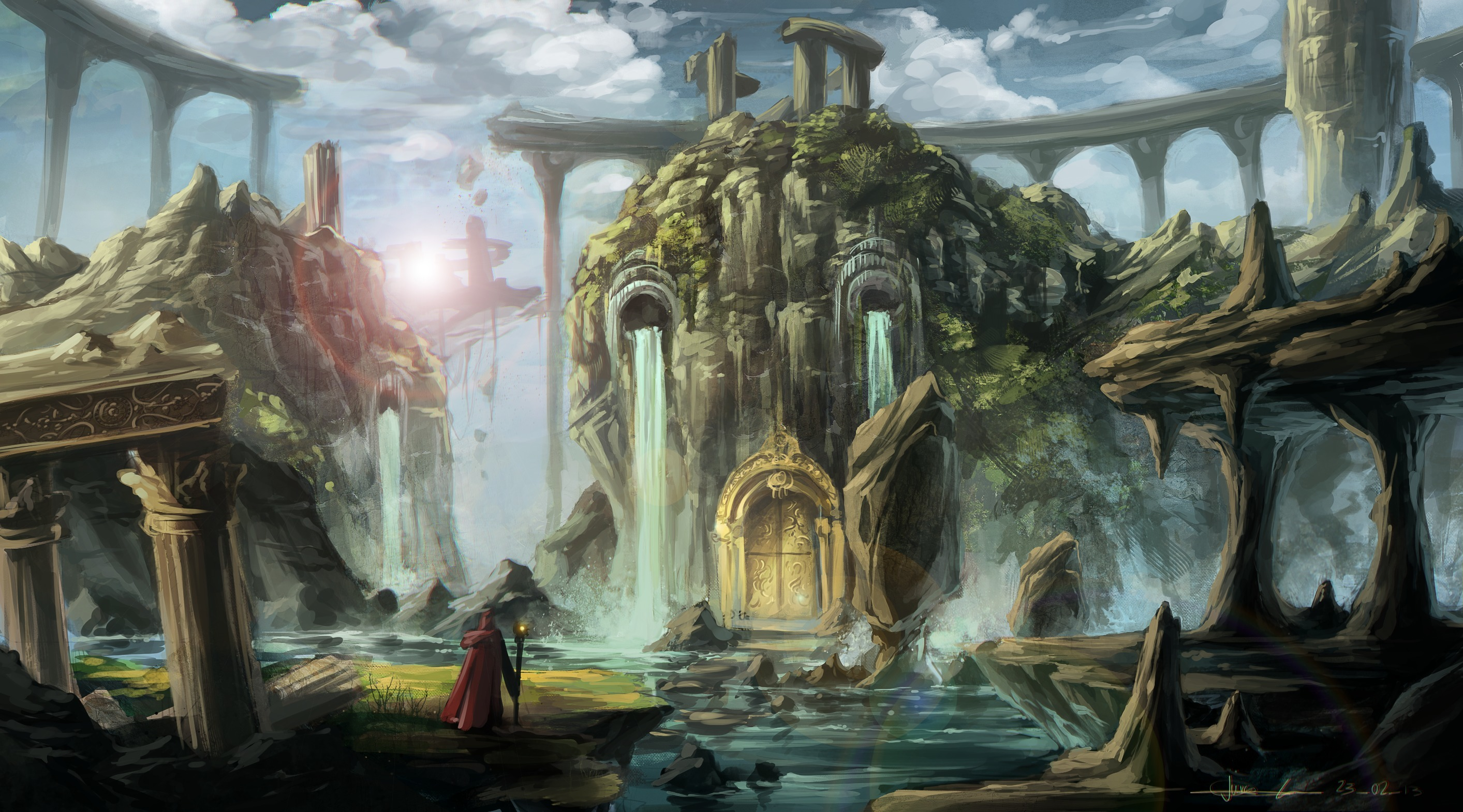 fantasy art wizard castle - photo #13