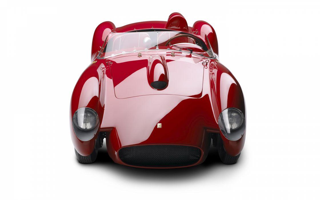 Ferrari Classic Car Classic Race Car red supercars reflection wallpaper