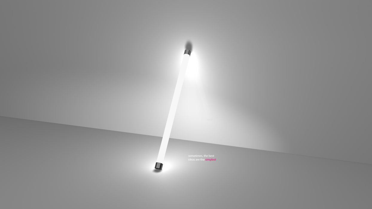 Idea Lightbulb light text quotes statement motivation wallpaper