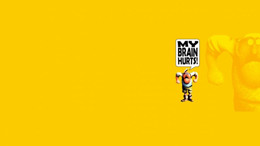 Monty Python Yellow cartoon humor movies text wallpaper
