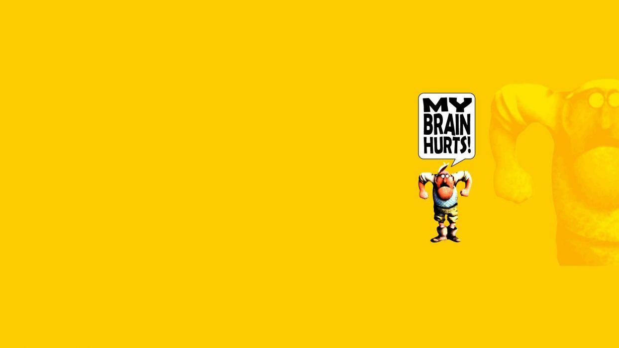 Monty Python Yellow Cartoon Humor Movies Text Wallpaper