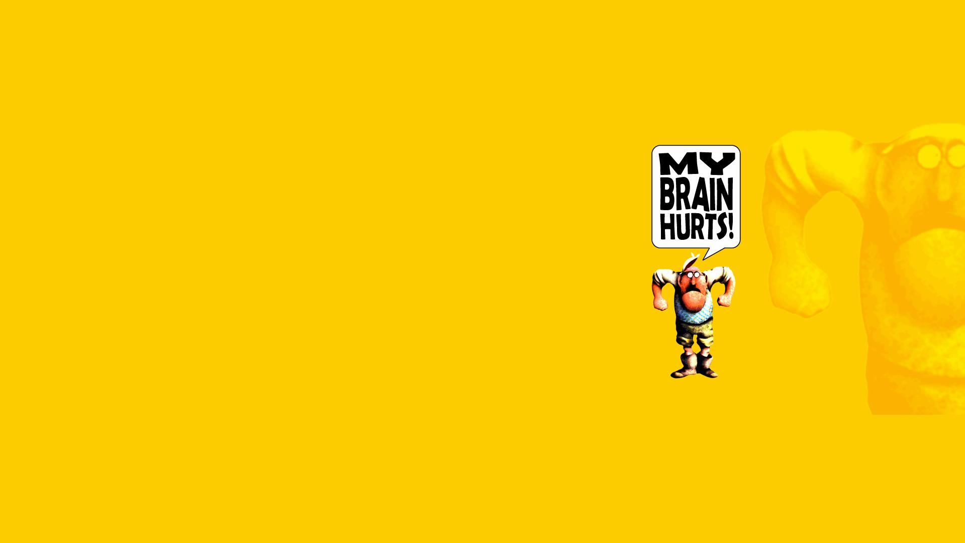 Monty Python Yellow cartoon humor movies text wallpaper ...