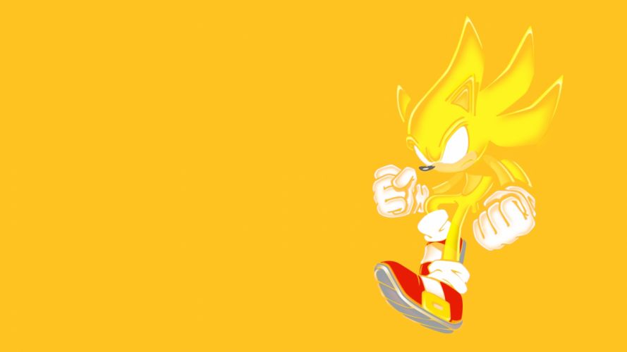 Sonic Sonic the Hedgehog Yellow wallpaper