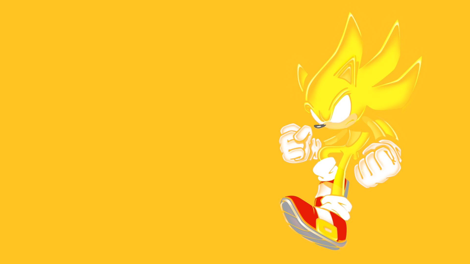 Sonic Sonic The Hedgehog Yellow Wallpaper 1920x1080 58362 Wallpaperup