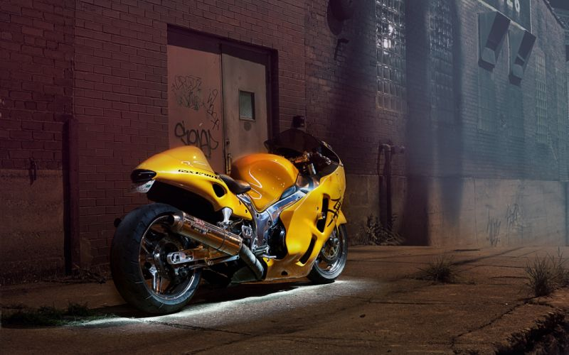 Suzuki Sportbike GSXR Hayabusa tuning wallpaper