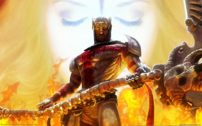video games Dante's Inferno wallpaper