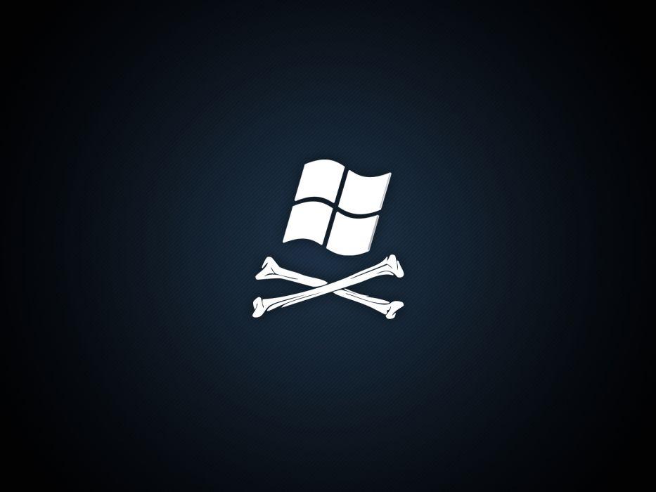 pirates Microsoft Windows logos wallpaper