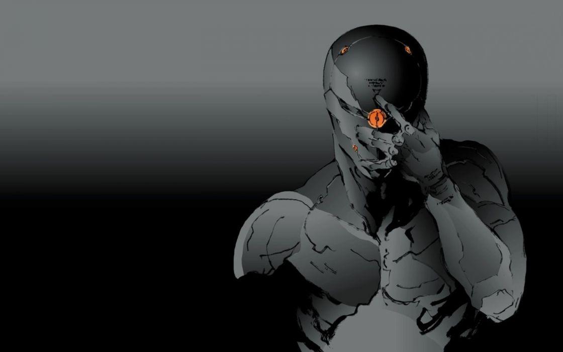 video games ninjas Metal Gear Solid Gray Fox wallpaper