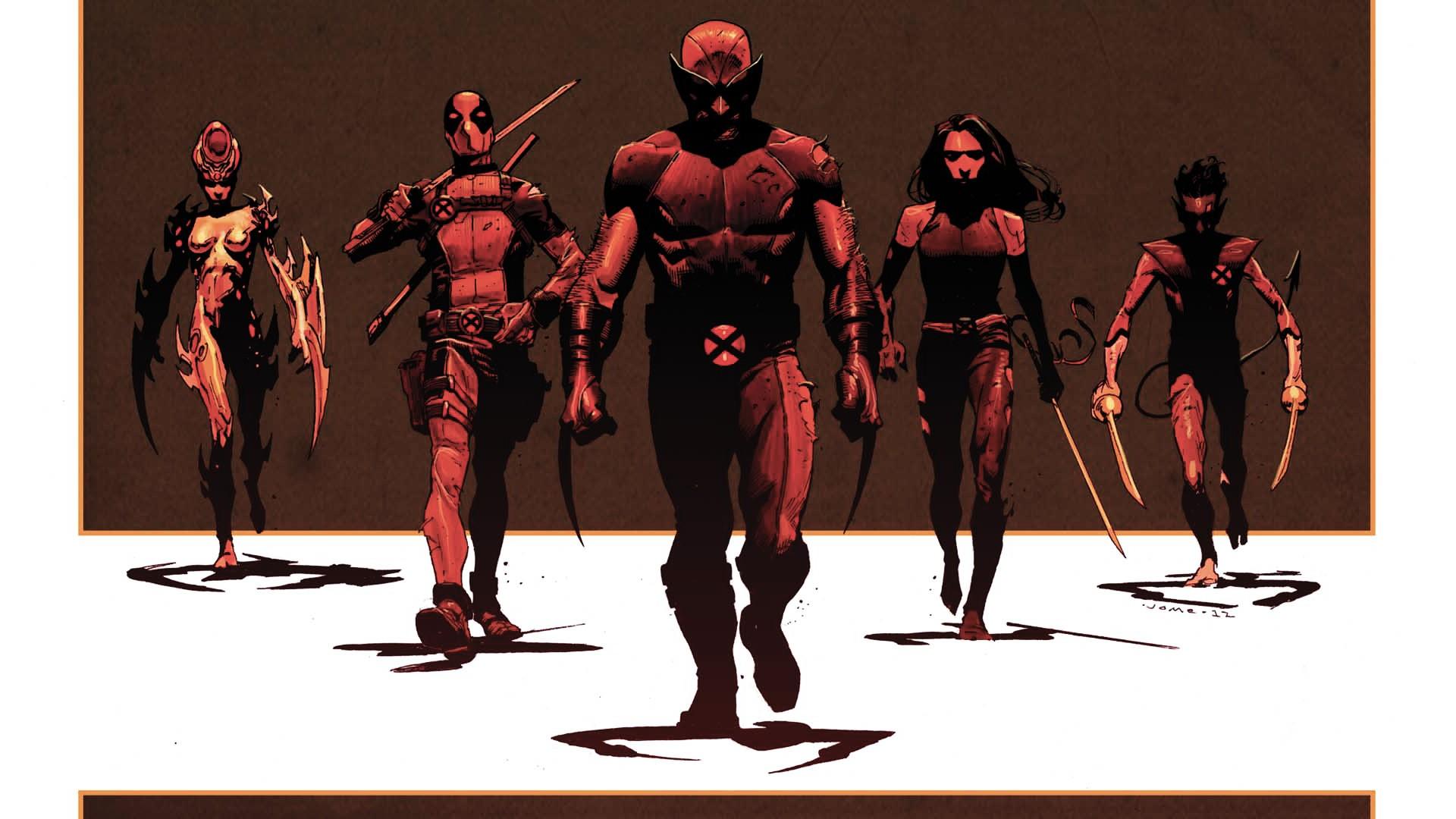 X-Men Wolverine Deadpool Wade  X Force Deadpool Wallpaper