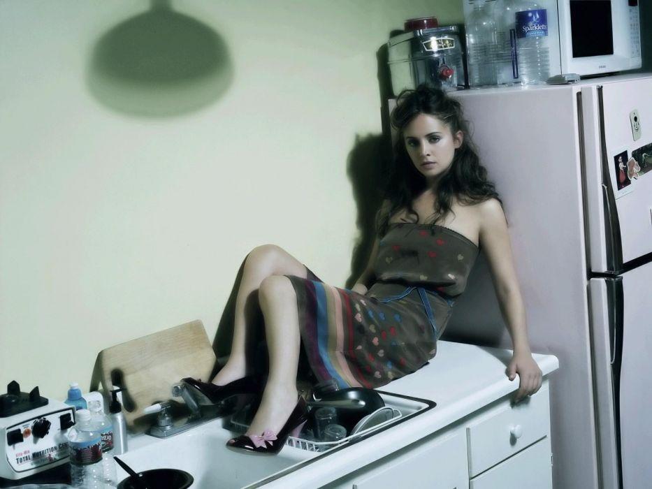women Eliza Dushku actress females girls sexy babes brunettes wallpaper