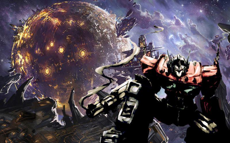 Optimus Prime Transformers Cybertron wallpaper