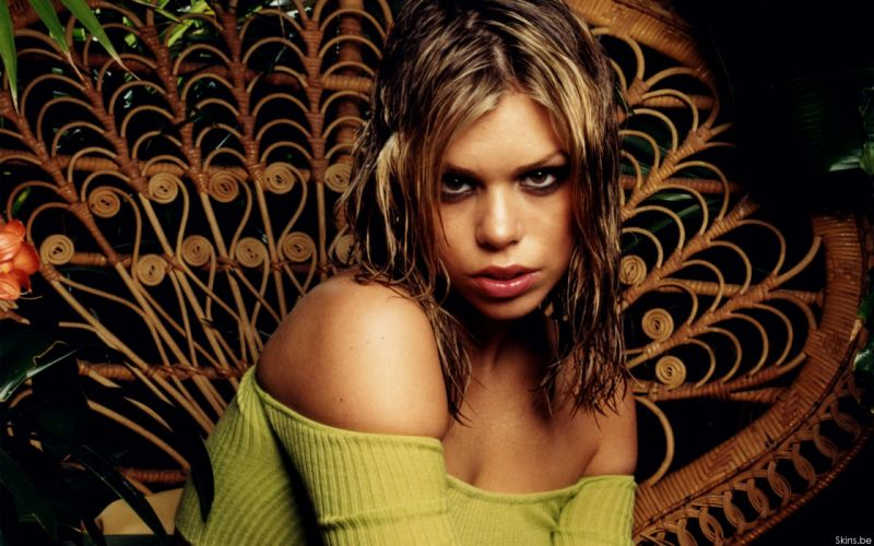 Billie Piper actress musician singer blondes women females girls sexy babes face eyes cleavage f wallpaper