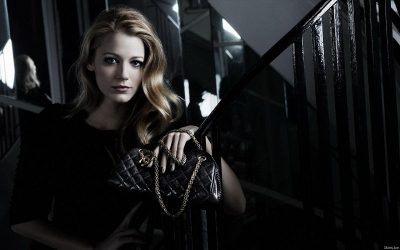 Blake Lively actress model blondes women females girls sexy babes face eyes s wallpaper