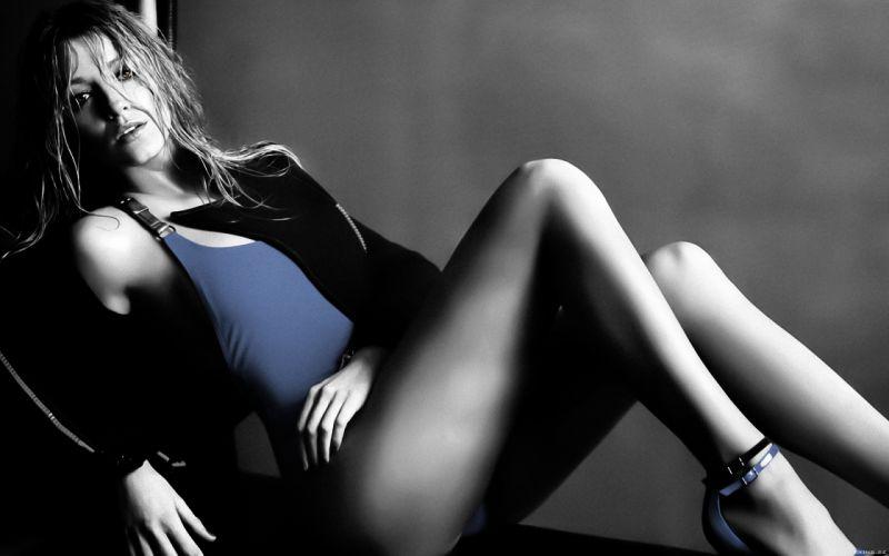 Blake Lively actress model blondes women females girls sexy babes face eyes swimwear legs cleavage wallpaper