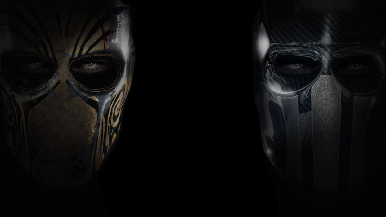 Army of Two black background game wallpaper