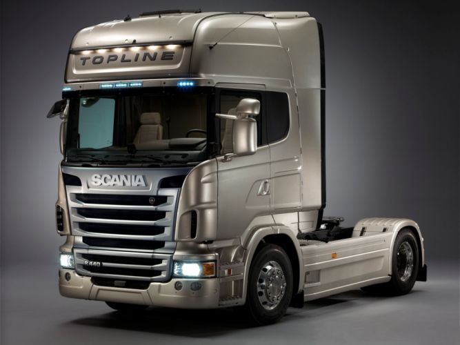 cars trucks vehicles scania semi tractor wallpaper