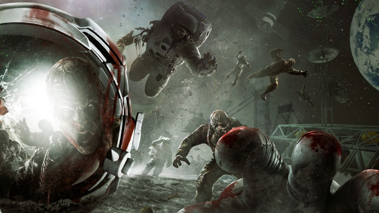 video games zombies Call of Duty artwork wallpaper