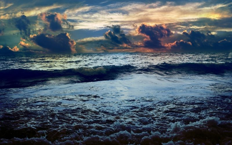 clouds nature horizon storm seascapes sky sea ocean sky clouds sunset sunrise beaches waves wallpaper
