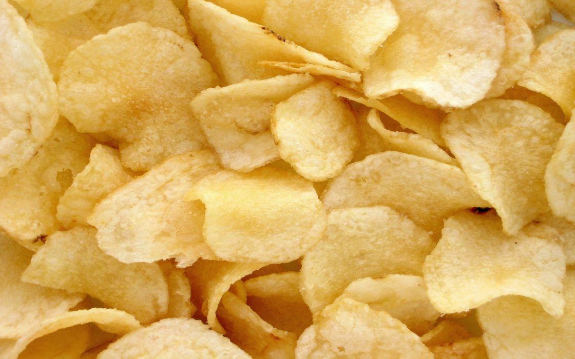 food Snacks potato chips wallpaper
