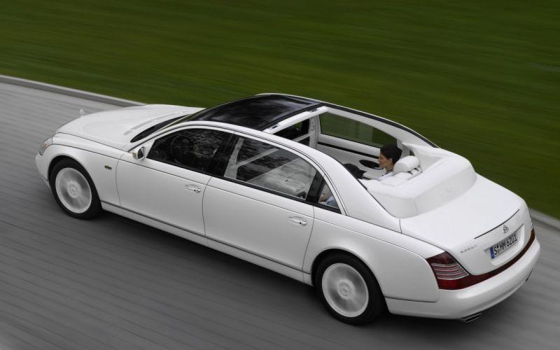 white cars Maybach 62 S wallpaper