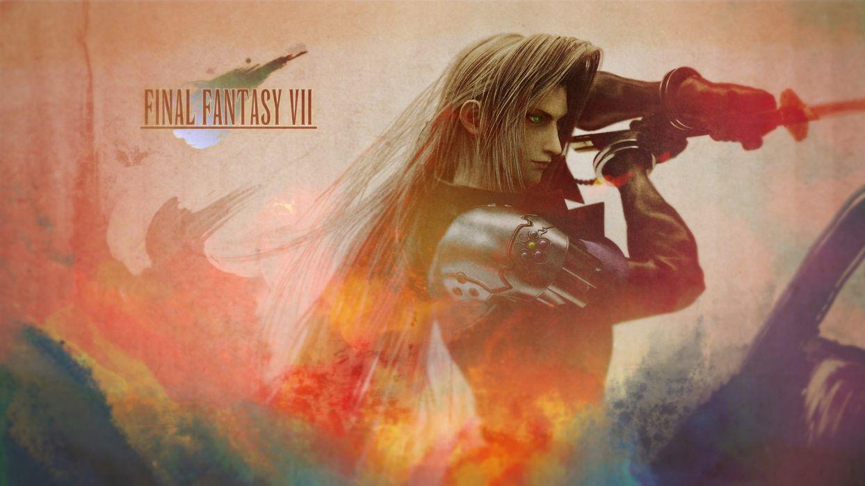Final Fantasy Sephiroth wallpaper