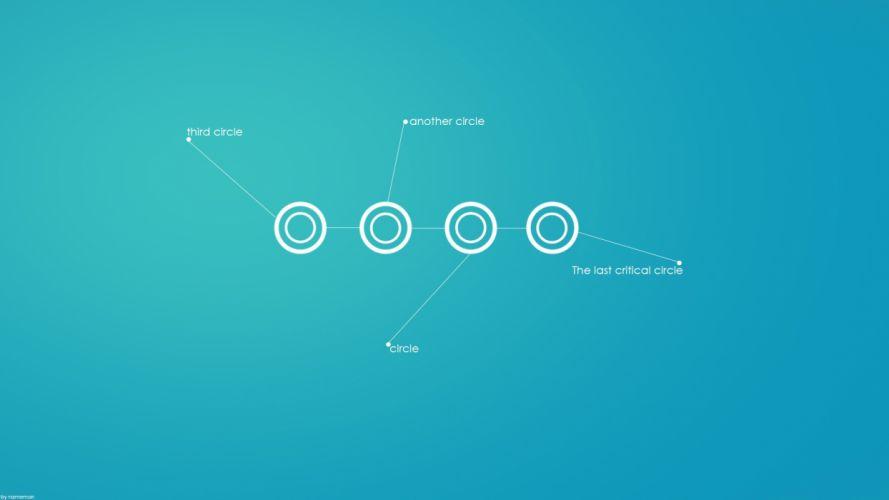 minimalistic circles wallpaper