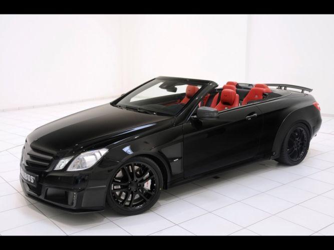 cars convertible Brabus Mercedes Benz wallpaper