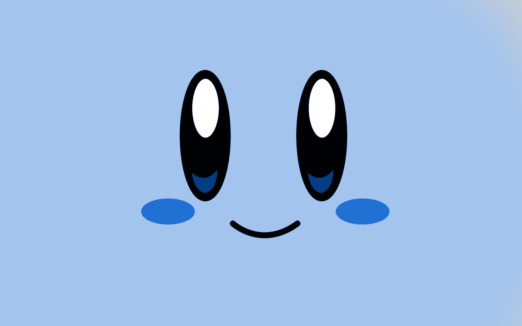 Kirby Blue Wallpaper