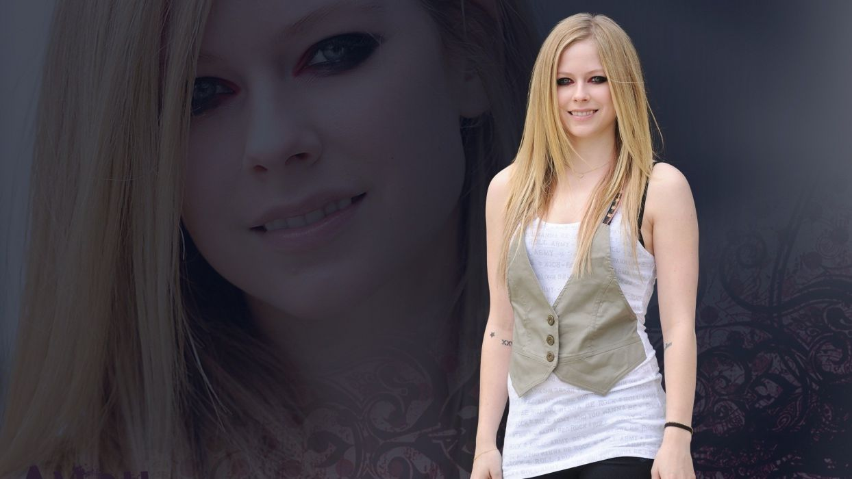 women Avril Lavigne celebrity TagNotAllowedTooSubjective wallpaper