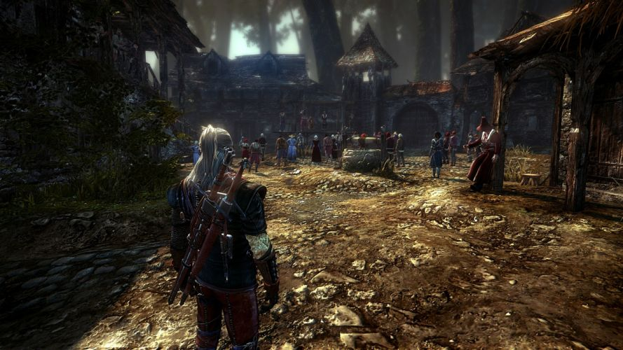 The Witcher screenshots The Witcher 2 wallpaper