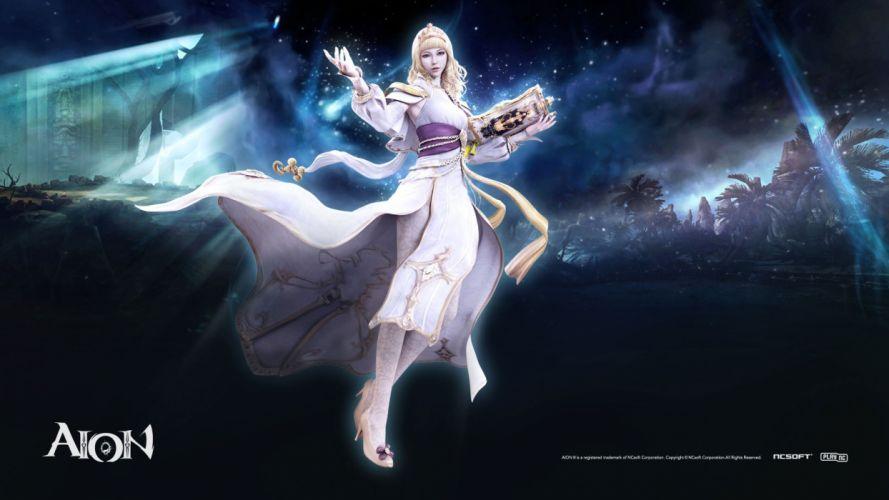 video games Aion artwork wallpaper