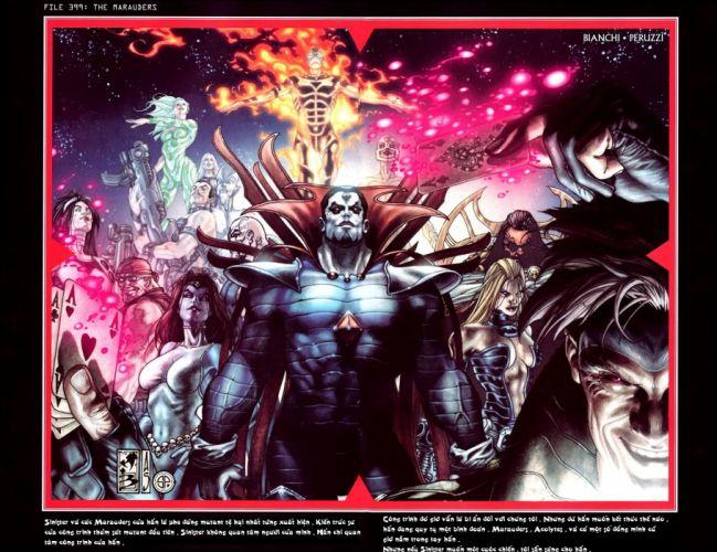 comics X-Men superheroes Marvel Comics wallpaper