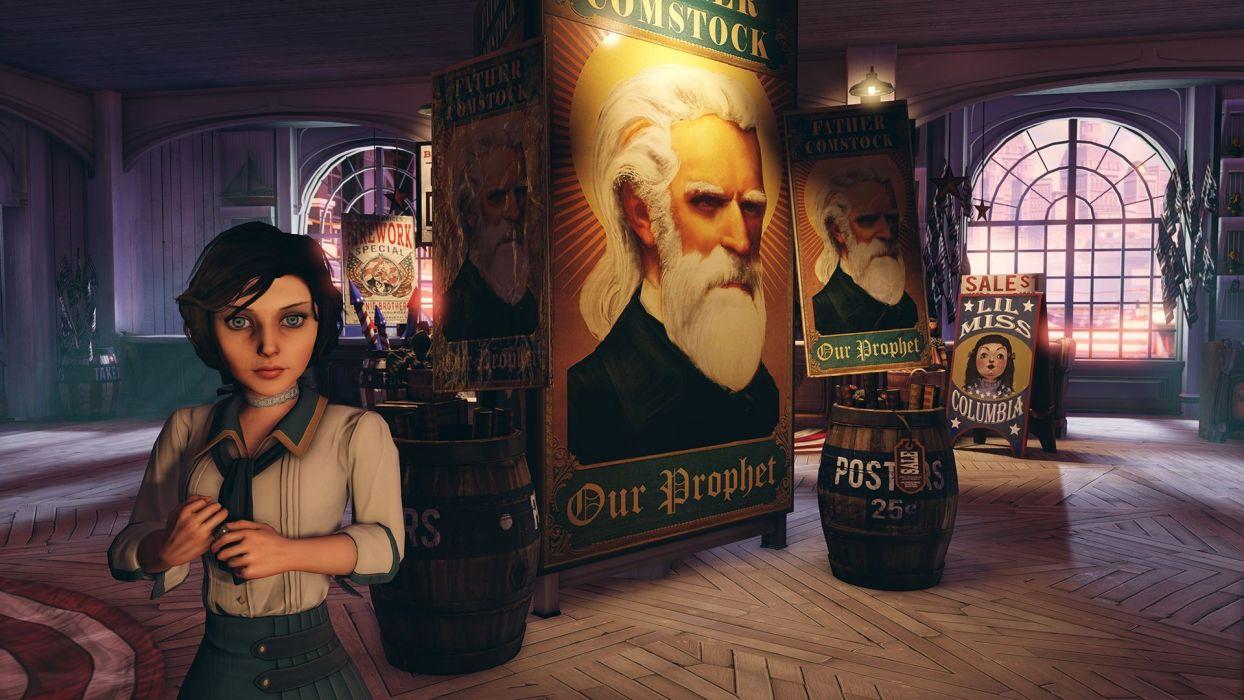 video games BioShock Bioshock Infinite wallpaper