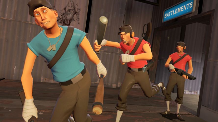 Scout TF2 Team Fortress 2 wallpaper