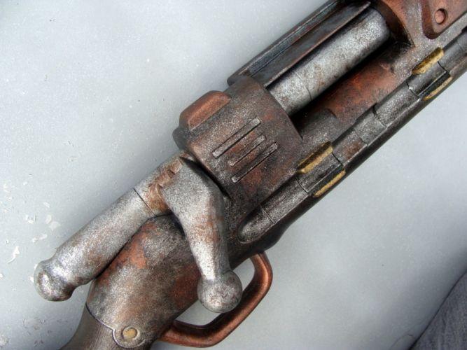 guns steampunk ammunition wallpaper