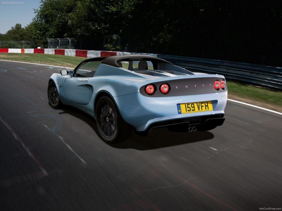 blue racer Lotus Elise club wallpaper