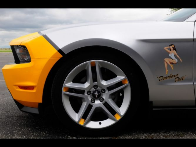 muscle cars front vehicles Ford Mustang doll wallpaper