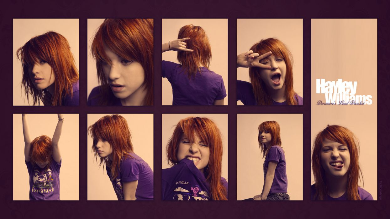 Hayley Williams Paramore redheads celebrity wallpaper
