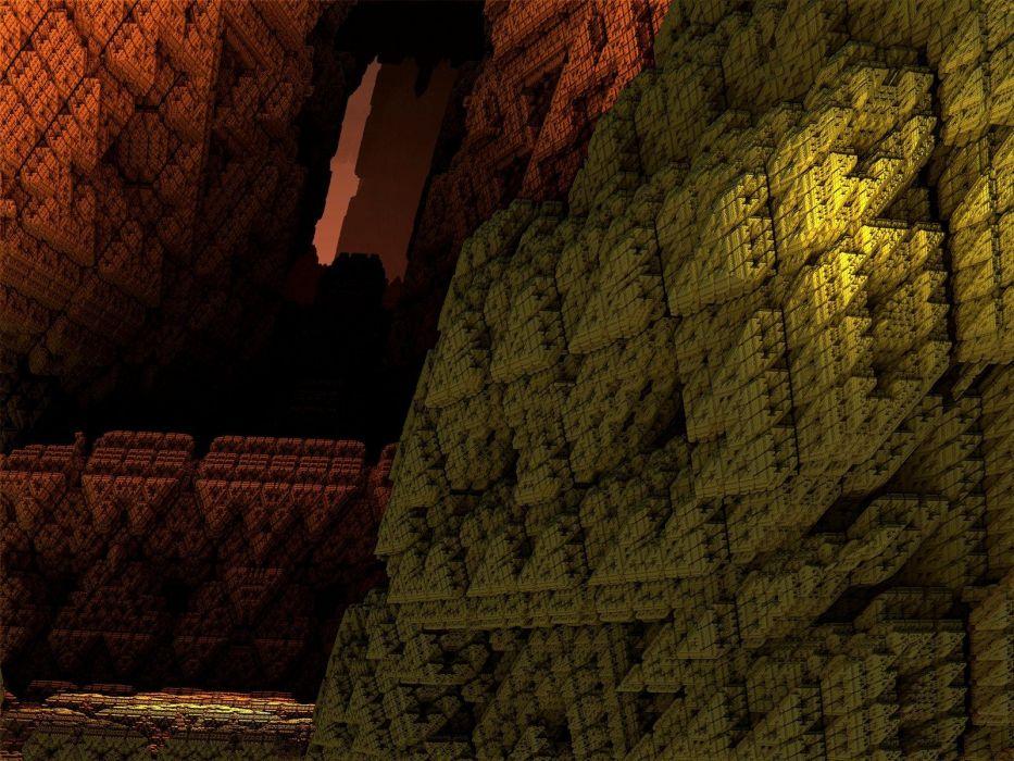 abstract fractals digital art artwork wallpaper