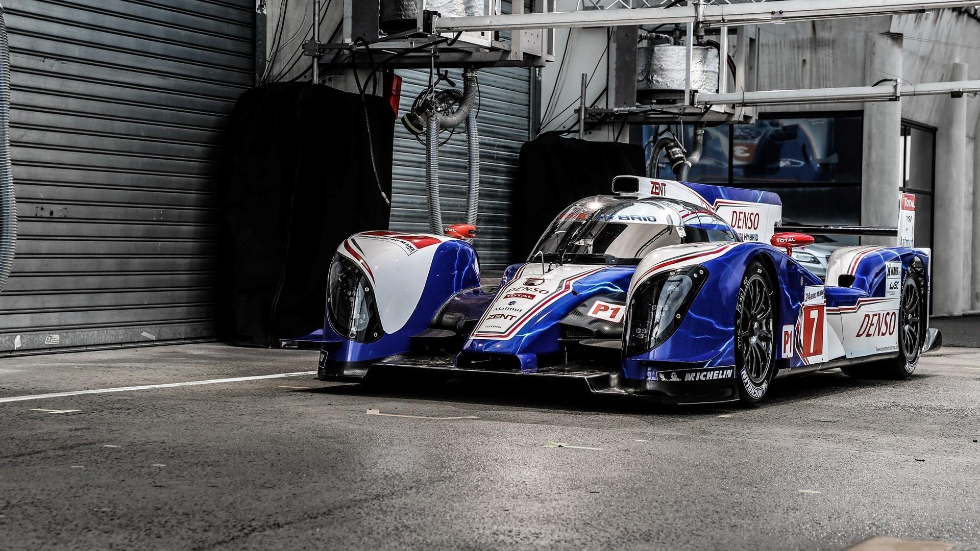 Cars Japanese Toyota Le Mans Racing Cars Hour Endurance Race