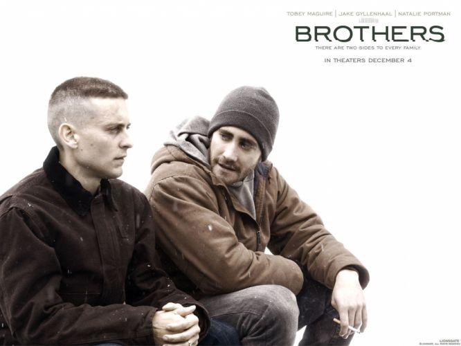 movies Jake Gyllenhaal Tobey Maguire Brothers (movie) wallpaper