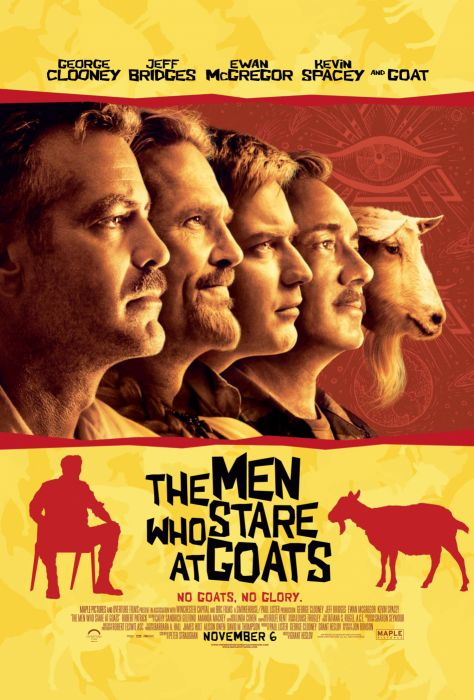 Ewan Mcgregor George Clooney Jeff Bridges Kevin Spacey movie posters The Men Who Stare At Goats wallpaper