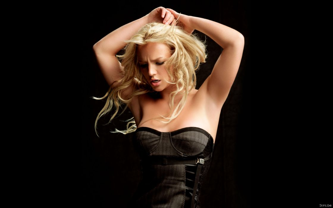 Britney Spears singer musician blondes women females girls sexy babes cleavage wallpaper